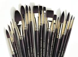 W&N Galeria Acrylic Brushes