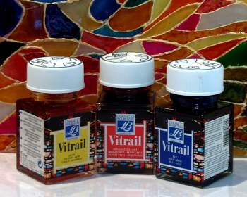 Vitrail Glass Paints