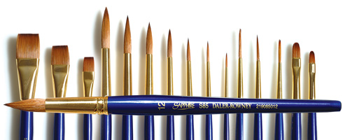 Sapphire Brushes
