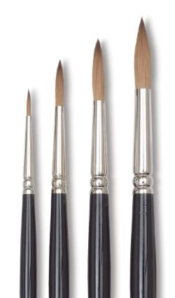 W&N Artists' Sable Brushes