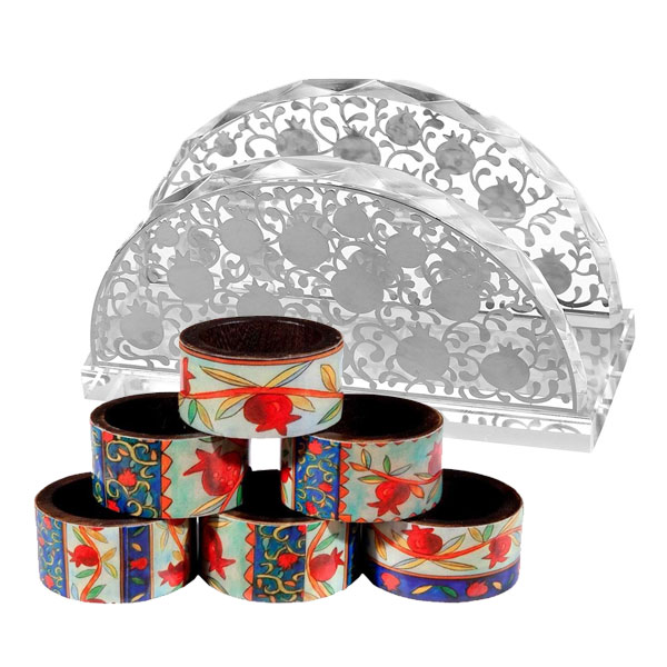 Jewish Napkin Holders & Rings