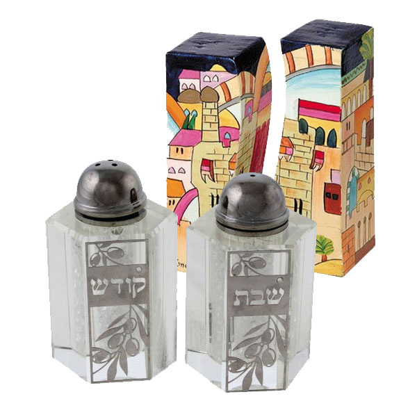 Jewish Salt & Pepper Shakers