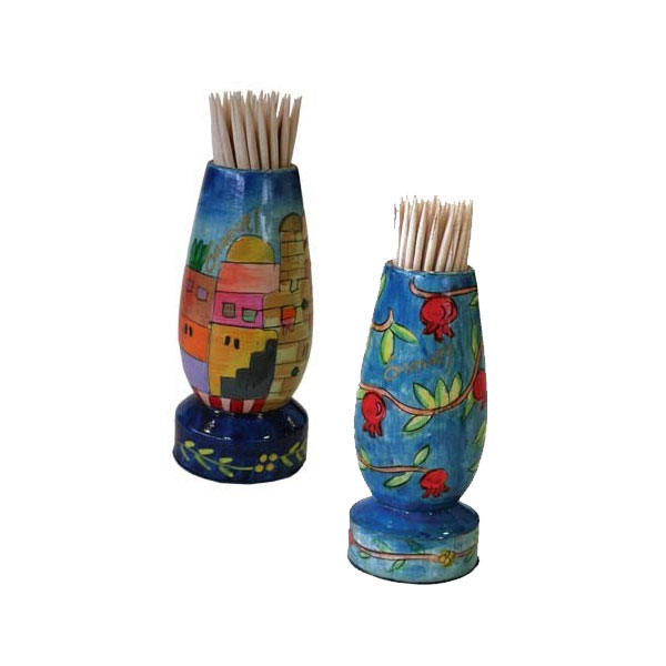 Jewish Toothpick Holders