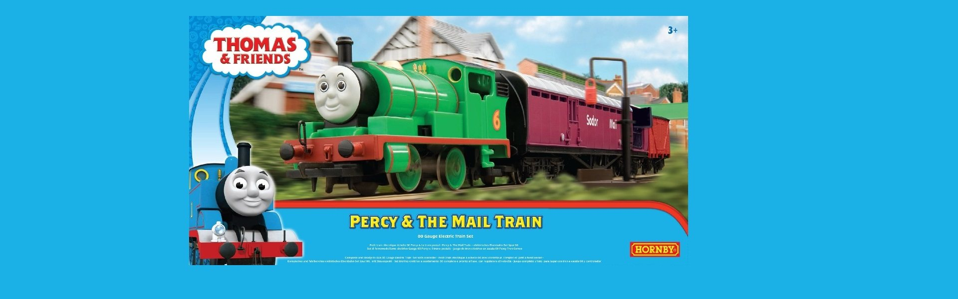 Percy & The Mail Train Set Only £79.20