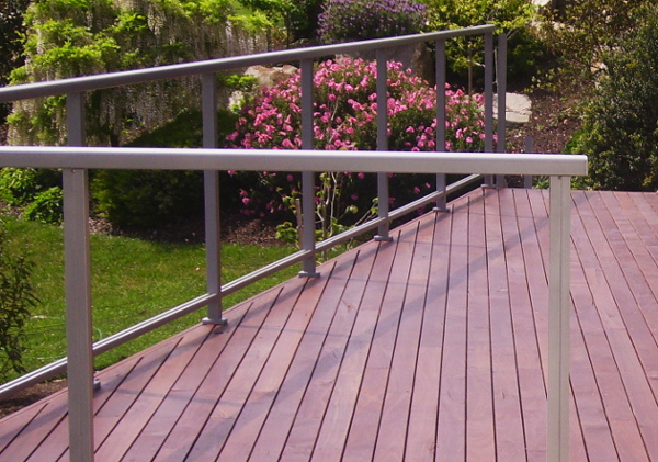 Alis Decking Oil on jarrah deck.