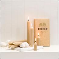 Beeswax Dinner Sticks candles