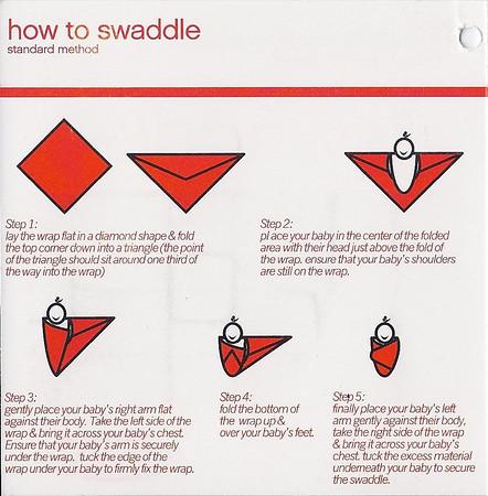 Muslin swaddle label side 2