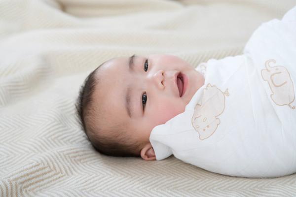 peaceful swaddled baby 2
