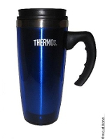 Thermos insulated stainless steel mug