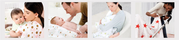 many uses for a muslin baby wrap