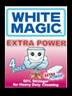 white magic Extra microfibre sponge