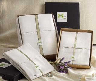 hemp bedlinen gift boxed