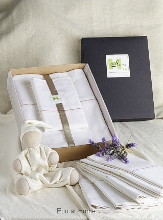 hemp sheet set for baby cot