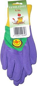 Childs gardening gloves latex very small