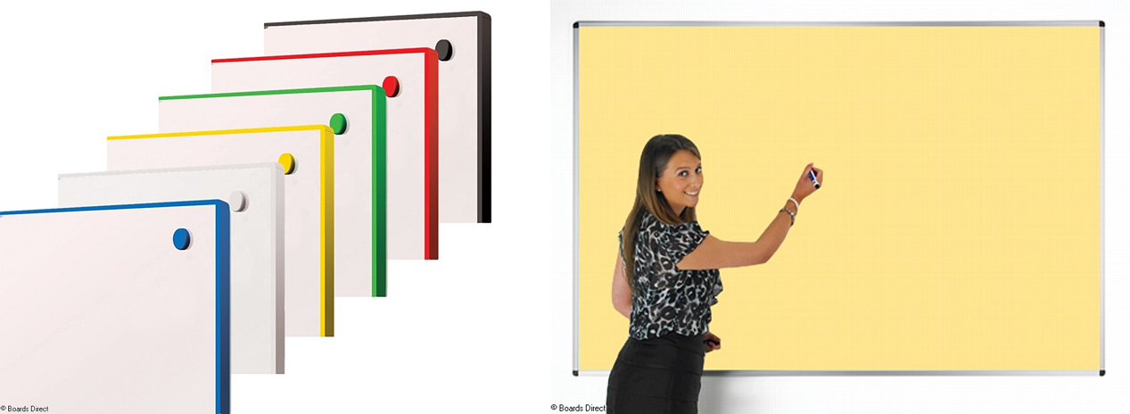 Coloured Whiteboards