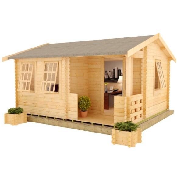 Amur Log Cabin