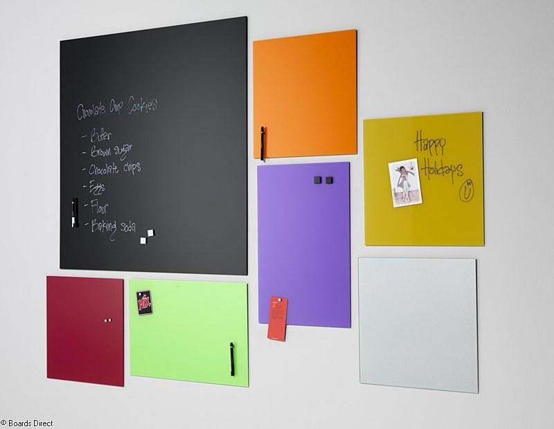 colour glass boards
