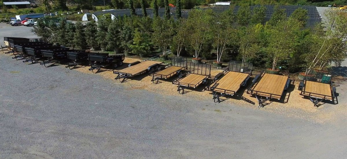 Need a trailer or to rent Landscape Equipment?