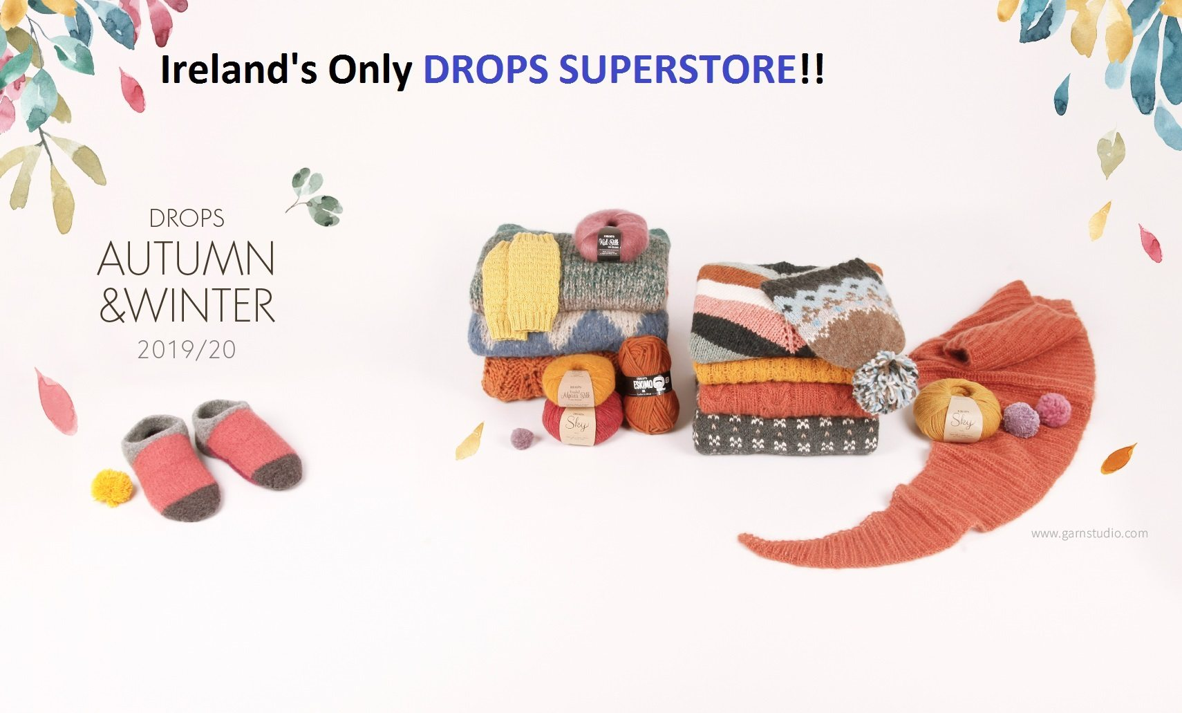 Ireland's Only DROPS SUPERSTORE
