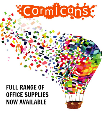 Full range of office supplies now available