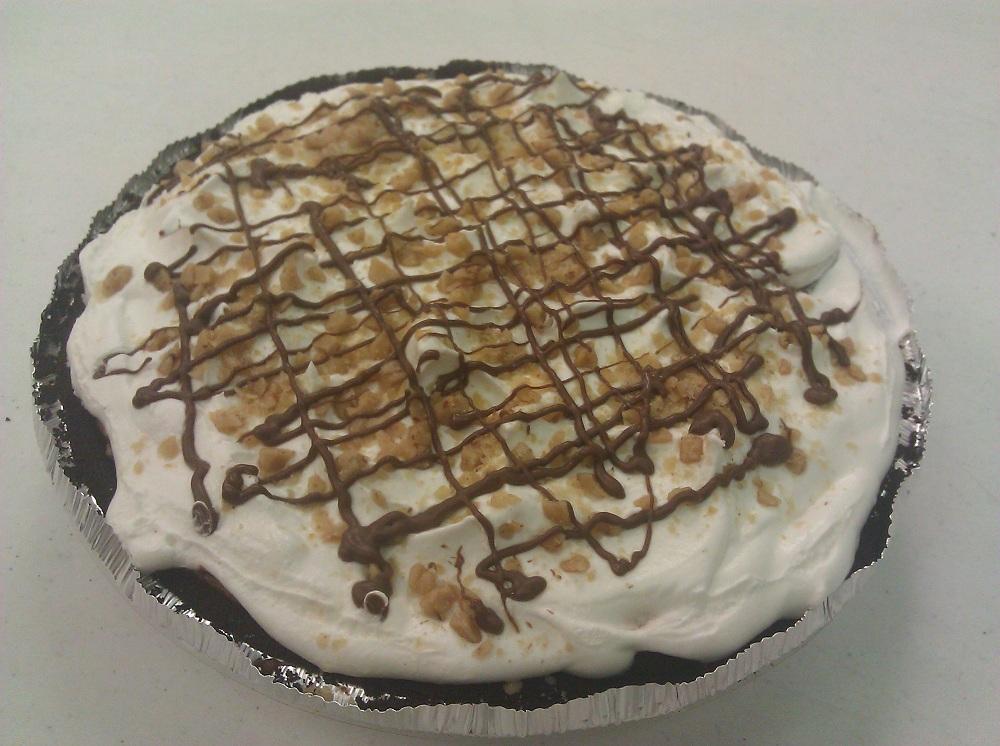 Toffee Crunch Pudding Pie