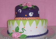 Topsy-Turvy Cake Class