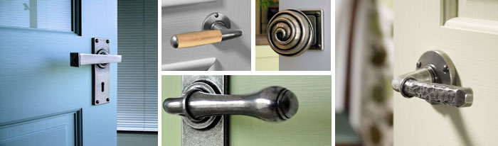 Pewter Door Furniture