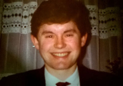 Tony in 1980 when he started at Broughtons