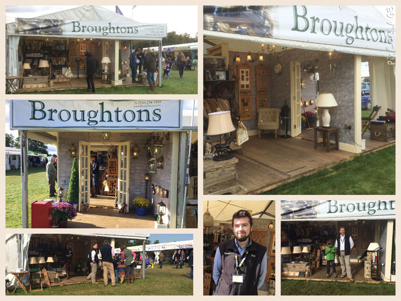 Broughtons at Burghley Horse Trials