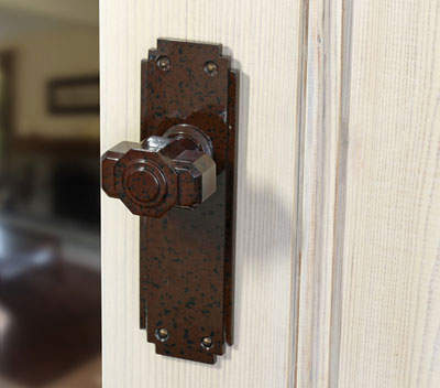 Bakelite Art Deco Door Knob
