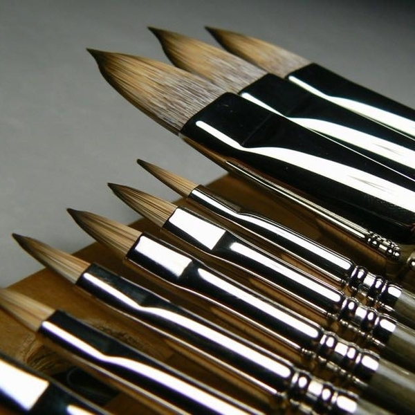 Escoda Oil/Acrylic Brushes