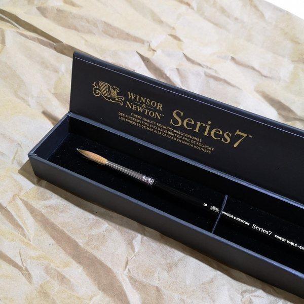 W&N Series 7 Kolinsky Brush