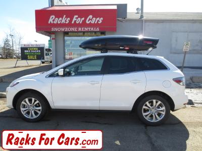 Yakima Ski And Cargo Box For A Mazda Cx 7 Racks For Cars