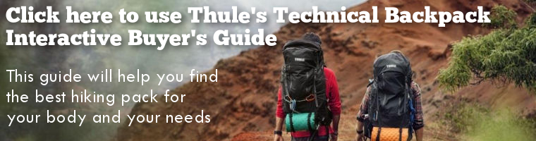 Thule Technical Back Pack Interactive Buyer's Guide