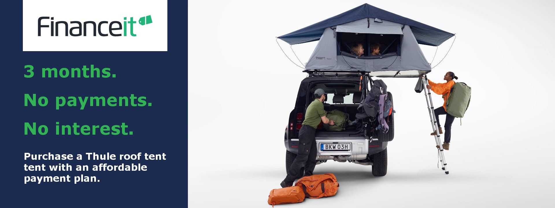 Buy a Tepui Tent by August 7th and Don't Pay for 3 Months!