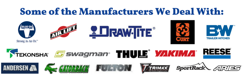 some of the manufacturers we deal with