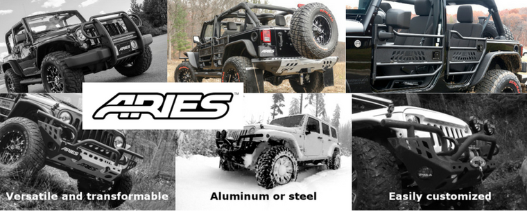 Aries Jeep Banner