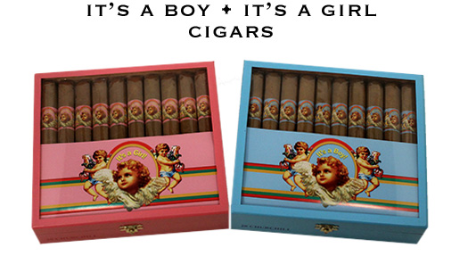 Cigar for when a Baby Is Born