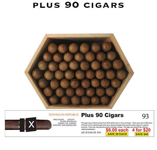 Buy Plus 90 Cigars