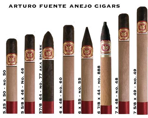 Buy Fuente Anejo Cigars