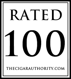 Rated 100 by TheCigarAuthority.com