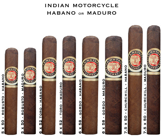 Buy Indian Motorcycle Cigars