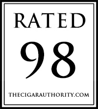 Rated 98 by The Cigar Authority