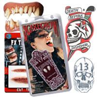 Prosthetics, Teeth & Tattoos