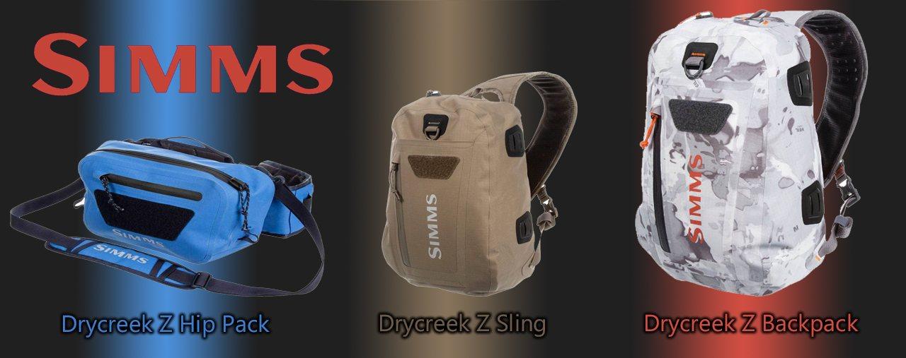 Simms Drycreek Z Packs