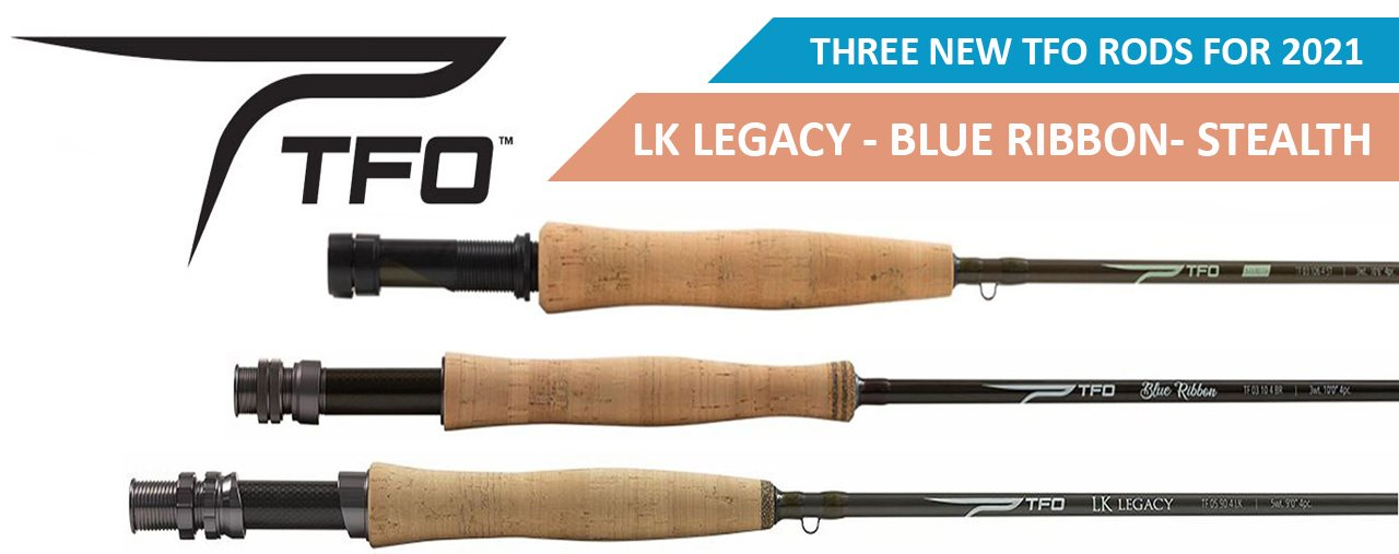NEW TFO FLY RODS