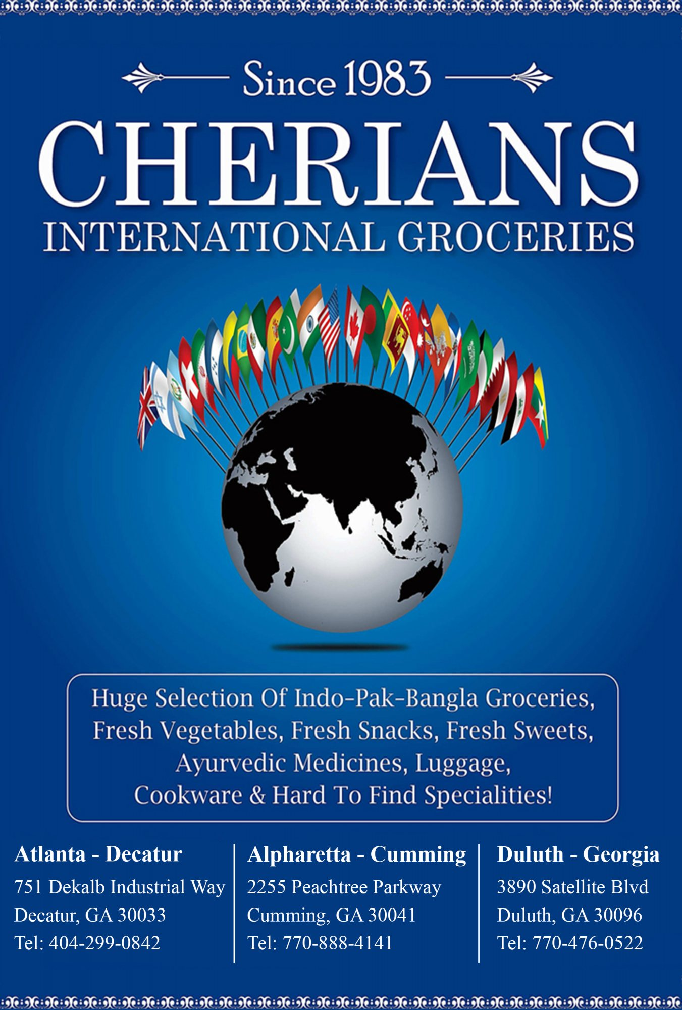Cherians International Gorceries