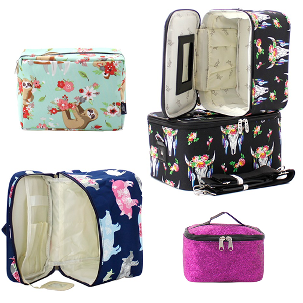 N'GIL Canvas Cosmetic Cases