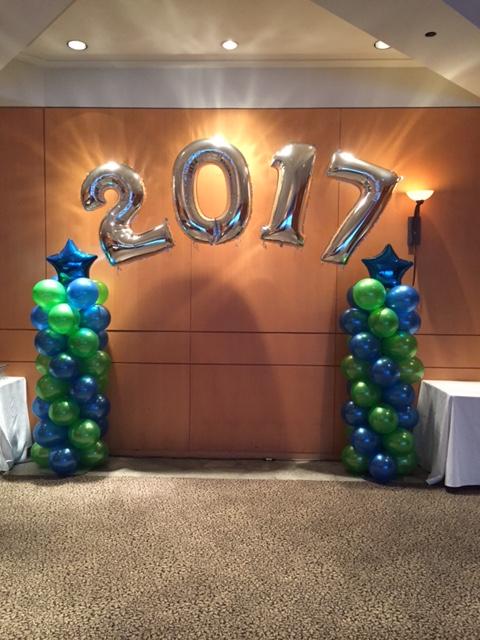 2017 foil ballons