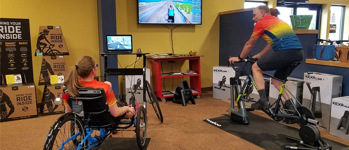 Get a FREE Zwift card when you buy a Smart Trainer now through November 27th while supplies last!